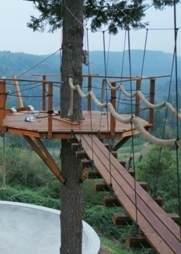 Zip Line Feature On A Treehouse What Austintreehouses